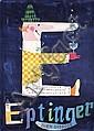Original 1950 HERBERT LEUPIN Eptinger Poster Plakat