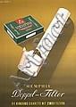 ORIG 1950s Memphis Cigarette Poster Donald Brun Design