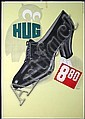 Original 1930s Swiss Shoe Advertising Poster 1930s