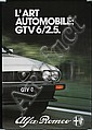 Great Original Swiss Alfa Romeo GTV 6 Poster