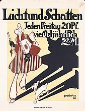 Original 1910s German Magazine Poster PREETORIUS ART