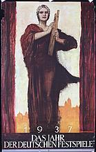 Original 1930s German Theater Festival Travel Poster