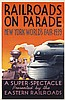 RARE Original 1930s LESLIE RAGAN Rail NY Travel Poster, Leslie Darrell Ragan, $1,500
