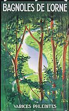 Original 1940s French Travel Poster PAUL COLIN Design