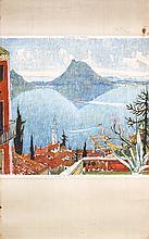 2 Original Travel Posters Carigiet Swiss Ticino + 1