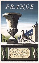 Original 1950s French Travel Poster PICART LE DOUX
