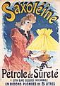Original 1891 JULES CHERET Saxoleine Advertising Poster