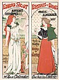 Original 1890s Art Nouveau Poster Sagot Gustave Marie