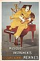Original 1920s Lotti Music Piano Clown French Poster