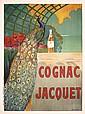 Original French Liquor Ad Poster Cognac Jacquet