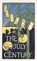 ORIG 1890s Art Nouveau JULY CENTURY Newspaper Poster