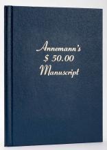 Abrams, Max (ed.) Annemann's $50.00 Manuscript. Los Angeles, 1976. Number 9