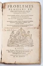 Bachet, Claude Gaspard de Meziriac. Problemes Plaisans et Delectables, Qui