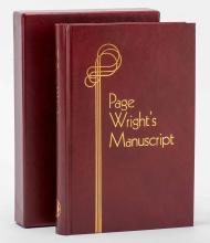 Behnke, Leo (ed.). Page Wright's Manuscript. South Pasadena: Daniel's Den,