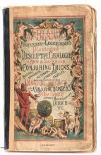 Mr. Bland's Professor of Legerdemain Illustrated Descriptive Catalogue of N