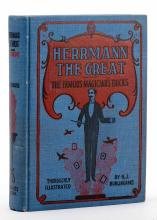 Burlingame, H.J. Herrmann the Great. Chicago: Laird & Lee, 1897. Pictorial