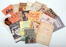 [Supply Catalogs] Group of More than 25 Vintage Magic Catalogs. 1920s - 80s