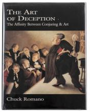 Romano, Chuck. The Art of Deception. South Elgin, 1997. Number 21 of 50 lea