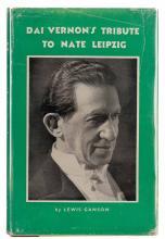 Ganson, Lewis. Dai Vernon's Tribute to Nate Leipzig. London: Harry Stanley,