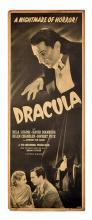 Dracula. Universal, R-1947. Insert (35 _ x 14