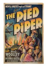 The Pied Piper. 20th Century Fox, 1942. One-sheet (27 x 41