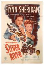 Silver River. Warner Brothers, 1948. One-sheet (27 x 41