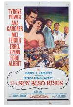 The Sun Also Rises. 20th Century Fox, 1957. One-sheet (27 x 41