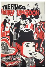 The Films of Harry Langdon. New York: Gallery of Modern Art, 1967. One-sheet (30 x 45