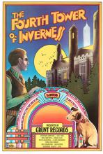 Byrd, David (Ameican, b. 1941). Jefferson Airplane. The Fourth Tower of Inverness. Grunt Records, 1972. First printing concert poster (21 _ x 31 _
