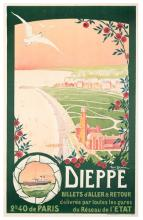 Granval, Rene. Dieppe. 1914. One-sheet (39 _ x 30