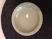 Chinese Porcelain Celadon Charger