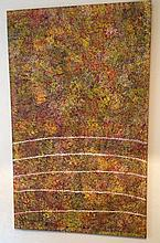 Kathleen Petyarre Acrylic On Canvas H142cm x W88cm