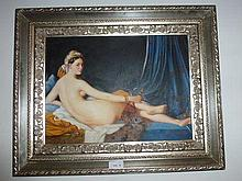 Decorative Nude Lady Framed A. Claudie Including