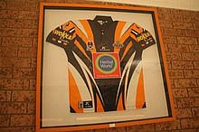Tigers Framed Autographed Jersey