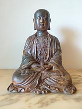Chinese Buddha 26cm Height by 19cm