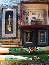 Selection of Collectables Including Didgeridoo