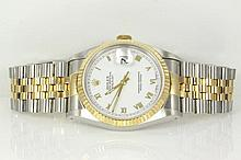 Rolex Oyster Perpetual Datejust 18ct yellow gold R