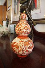 Chinese Porcelain Vase Decorated With Flowers Phoe