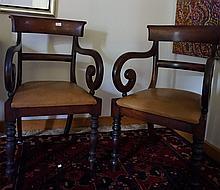 Rare Pair Of Mahogany/Cedar Carvers Mahogany Regen