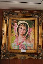 Framed oil on board, Floral Bouquet, bears the 38c