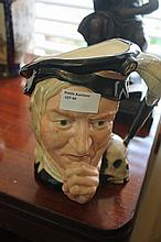 Royal Doulton Character Jug Hamlet