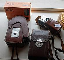 Collection Of Cameras Including Andreas Pillen g.m.h.m, Kodak ,Maxwell