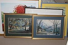 Collection Of Paintings And Prints