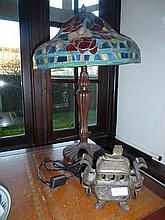 Tiffany Style Lead Light Lamp