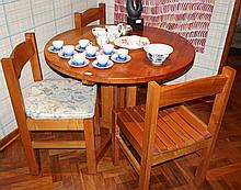 Six Piece Break fast Dining Setting Including Five Chairs And One Table