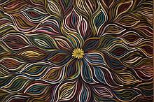 Gracie Morton acrylic on canvas 94cm x 94cm