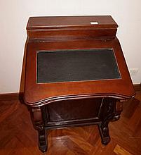 Victorian Style Mahogany Davenport