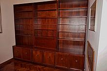 Three Piece Bookcase Together With Two Shelf Units