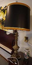 Pair Of French Bronze Column With Phoenix Decoration 109cm in Height