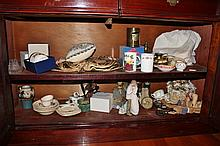 Contents of Two Shelf Lots Including China Ware, Royal Doulton, Royal Worcester